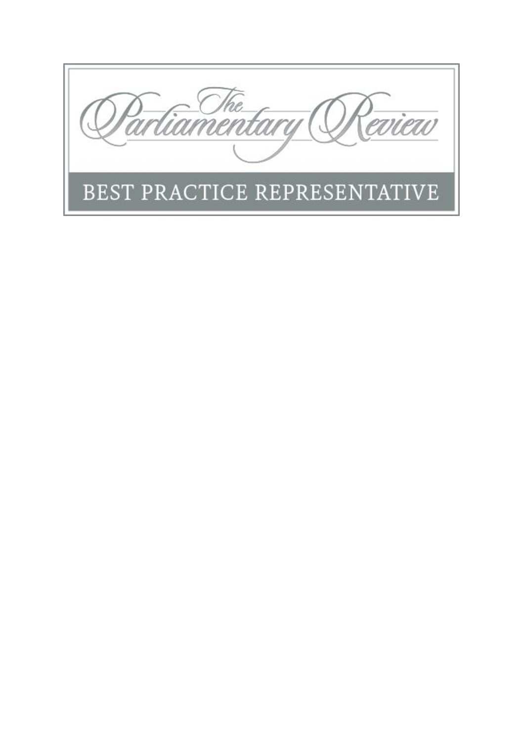 Glebe House featured in The Parliamentary Review