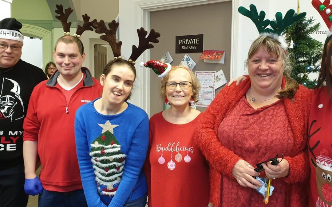 Christmas Coffee Morning in aid of Glebe House Raises over £130